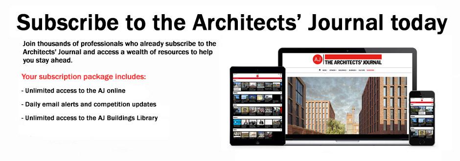 Architects' Journal Plus