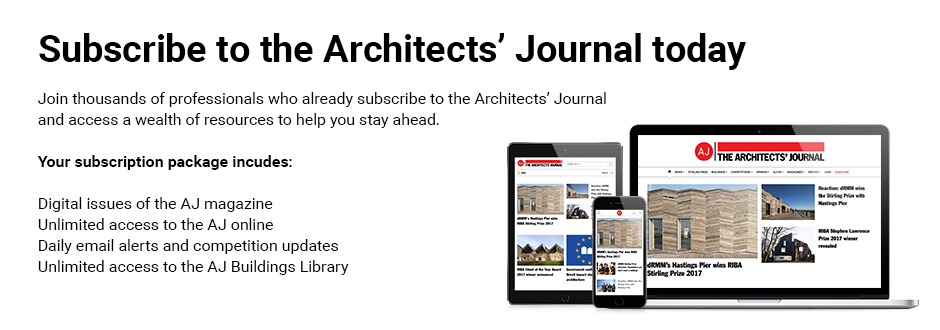 Architects' Journal Online