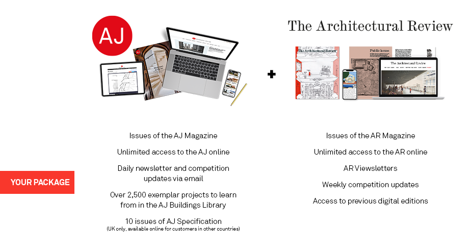 Architects' Journal & Architectural Review Print & Online